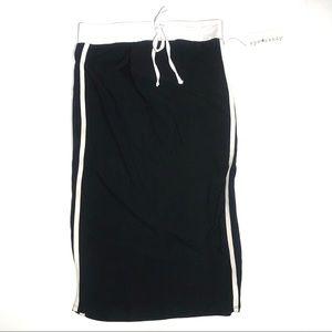 Eyecandy NWT Jersey Stripe Midi Skirt